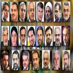 اعضای کمیسیون امنیت ملی و سیاست خارجی مجلس دهم