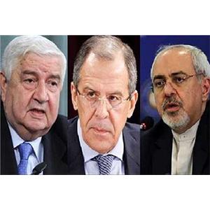 ظریف:باید با تروریسم در سوریه مبارزه کنیم/لاوروف: قصد روسیه در مبارزه با داعش، جدی است/المعلم: روسیه و ایران در کمک به سوریه صداقت دارند