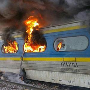 حریق در یکی از واگنهای قطار تهران –مشهد