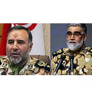 مراسم تودیع و معارفه فرمانده جدید و سابق نیروی زمینی ارتش آغاز شد