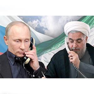 در گفتگوی تلفنی روحانی و پوتین بر ادامه مبارزه با تروریسم تاکید شد