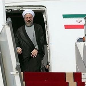 استقبال رسمی امیر کویت از رییس جمهور