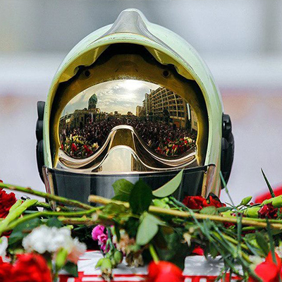 فراخوان فرمانداری تهران برای حضور مردم در مراسم تشییع شهدای آتشنشان