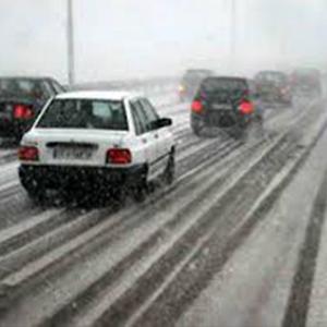پایان تیتر: برف جاده