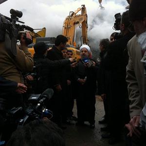 آواربرداریها باید تا خارج شدن همه افراد زیر آوار ادامه پیدا کند