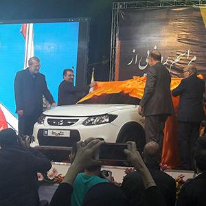 خودروی کوییک سایپا با حضور لاریجانی رونمایی شد+ تصاویر