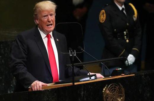سخنرانی ترامپ علیه ایران در مجمع عمومی سازمان ملل
