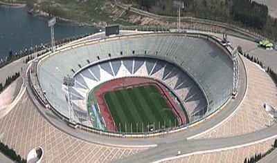 پایان تیتر: استادیوم آزادی