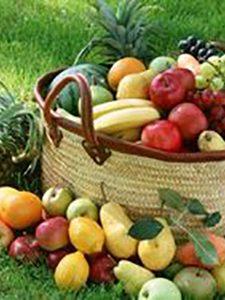 پایان تیتر: رنگ میوه ها