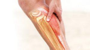 پایان تیتر: گرفتگی عضلات پا
