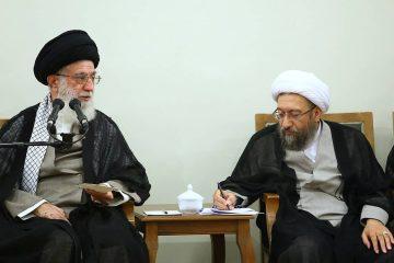 آیتالله آملی لاریجانی رئیس مجمع تشخیص مصلحت نظام و عضو فقهای شورای نگهبان شد