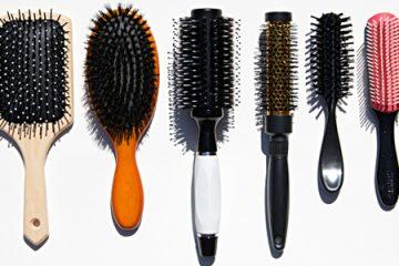 انواع برس مو و کاربردآنها