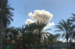 صدای انفجار در بلوار بعثت زاهدان ناشی از شی دست ساز بود
