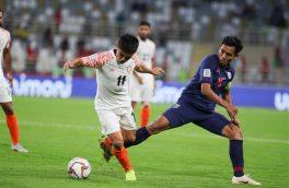 تیم ملی هند با نتیجه ۴-۱ تایلند ا شکست داد