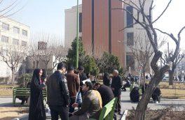 دانشجویان مقابل دیوان عدالت اداری اعتراض کردند