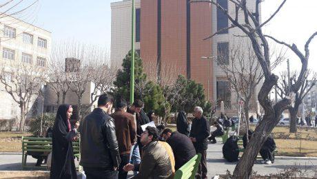 پایان تیتر: اعتراض دانشجویان