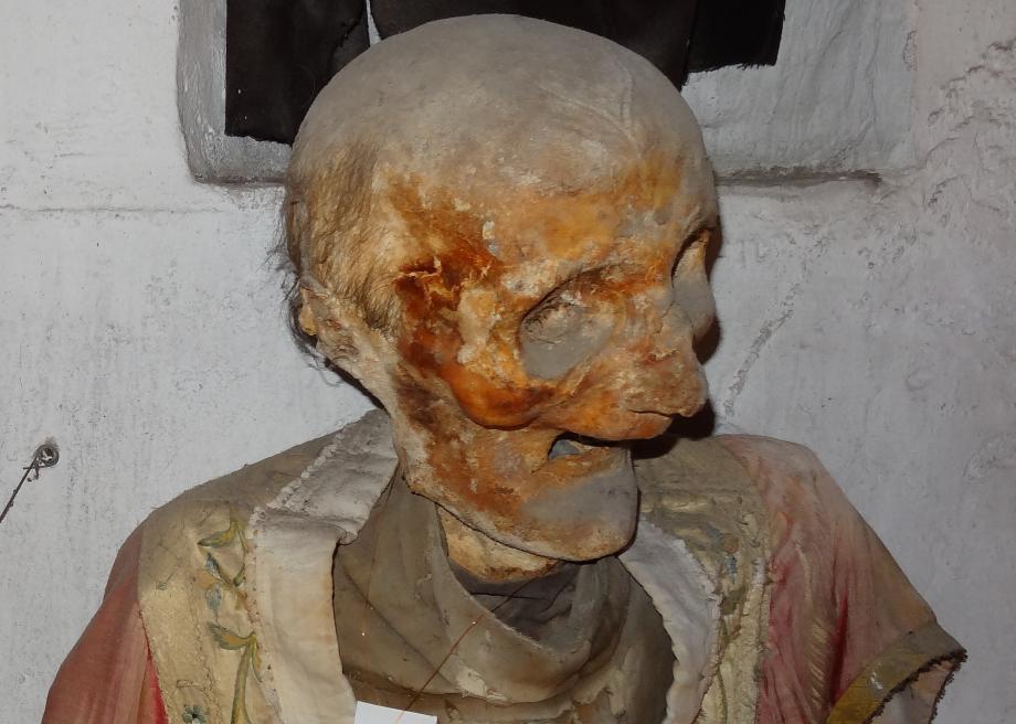 پایان تیتر: موزه مرگ کاپوچین