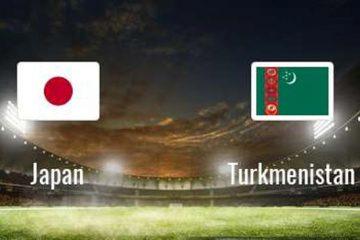 ترکیب تیمهای ژاپن و ترکمنستان اعلام شد