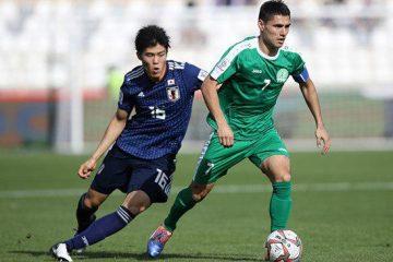 ژاپن ۳_۲ ترکمنستان را شکست داد