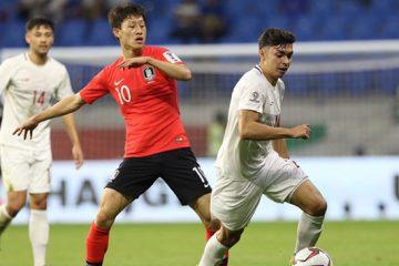 بازی سخت مدعی عنوان قهرمانی کره جنوبی ۱-۰ فیلیپین را شکست داد