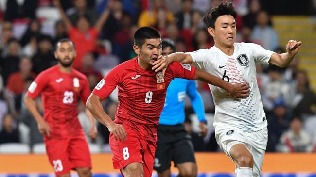 پایان تیتر: کره جنوبی و قرقیزستان