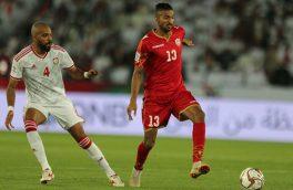 تیم ملی امارات و بحرین به نتیجه ۱-۱ رضایت دادند