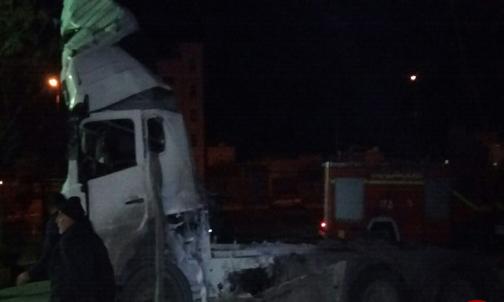 پایان تیتر: انفجار تروریستی خرم آباد