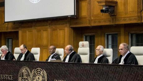 پایان تیتر: دادگاه لاهه