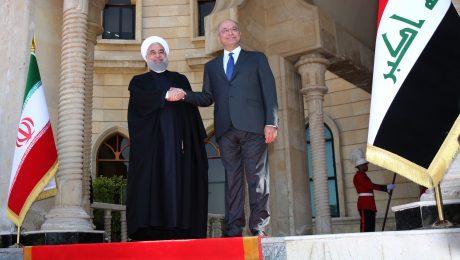 پایان تیتر: روحانی در عراق