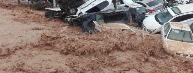 ارتش برای امدادرسانی به سیل زدگان شیراز وارد عمل شد