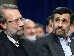 پایان تیتر: احمدی نژاد و لاریجانی