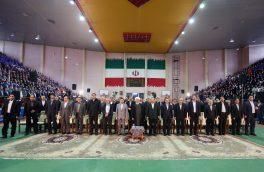 روحانی از کارگران و مدیران واحدهای نمونه تولیدی و صنعتی کشور تجلیل کرد