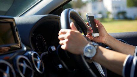 پایان تیتر: رانندگی با تلفن همراه
