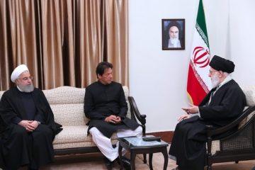 نخست وزیر پاکستان با رهبر معظم انقلاب اسلامی دیدار کرد