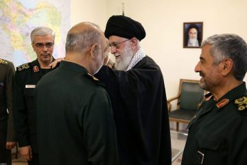 درجه سرلشکری به فرمانده کل جدید سپاه پاسداران انقلاب اسلامی اعطاء گردید