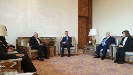 پایان تیتر: ظریف و اسد