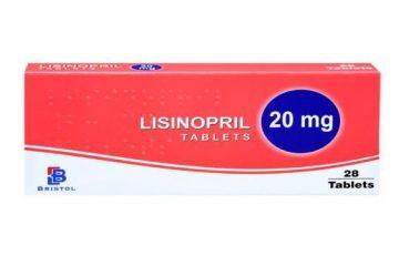 نحوه مصرف و عوارض جانبی داروی لیزینوپریل