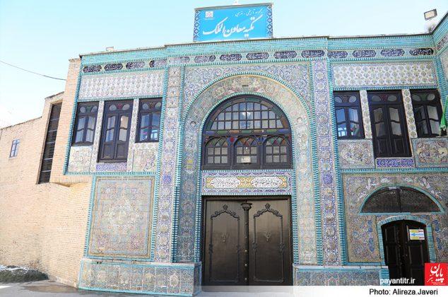 تکیه معاون الملک نگینی تاریخی در کرمانشاه/ عکس: علیرضا جاوری
