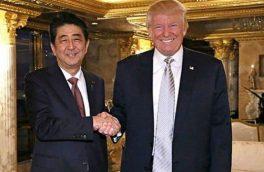 ترامپ خواستار سفر شینزو آبه به تهران شد!