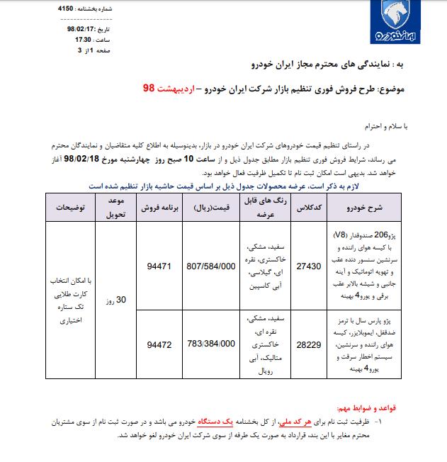 پایان تیتر: فروش فوری ایران خودرو