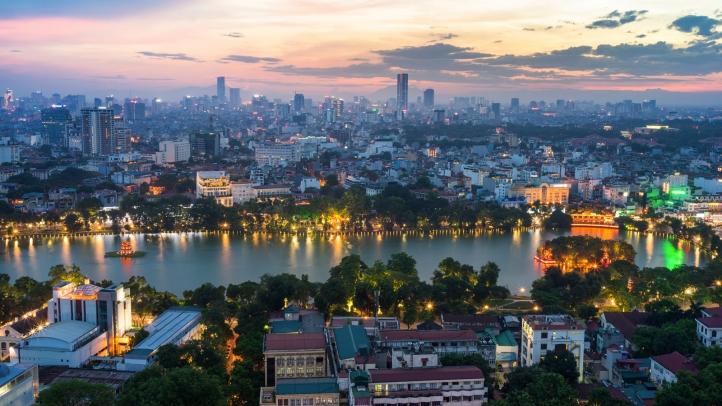 پایان تیتر: هانوی ویتنام