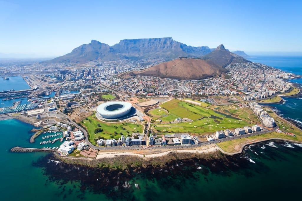 پایان تیتر: کیپ تاون آفریقای جنوبی