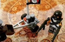 داعش در اتاق بازی پسر کوچک من! + عکس