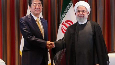 پایان تیتر: روحانی و شینزو آبه