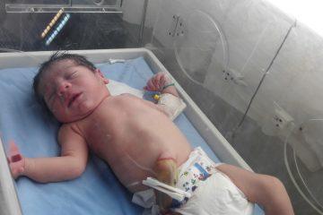 پرستار ناشناس نوزاد را از یکی از بیمارستان های غرب تهران به سرقت بُرد