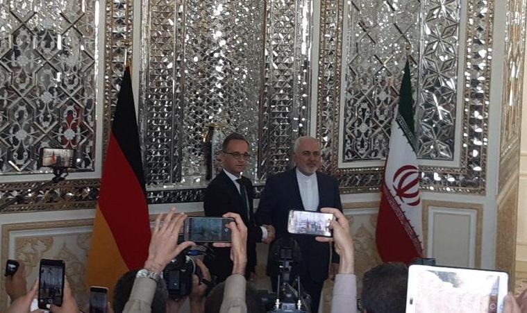 پایان تیتر: وزیرخارجه ایران و آلمان