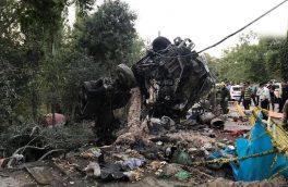 میکسرمرگ درخیابان الهیه ۲ کشته و ۵ مصدوم و تخریب دیوار سفارت روسیه را به جا گذاشت