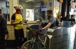 از دوچرخه سواری با مترو لذت ببرید