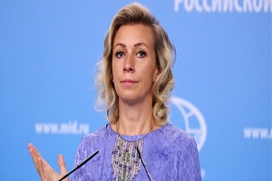 پایان تیتر: ماریازاخارووا سخنگوی وزارت خارجه روسیه