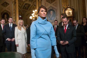 اولین مجسمه ملانیا ترامپ ساخته شد